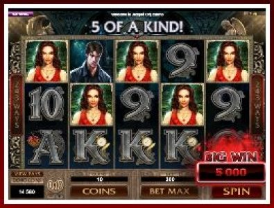 Slot Machine Immortal Romance