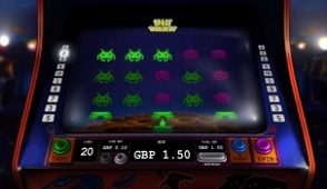 Space invaders slot screenshot 313