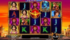 3 genie wishes slot screenshot 313