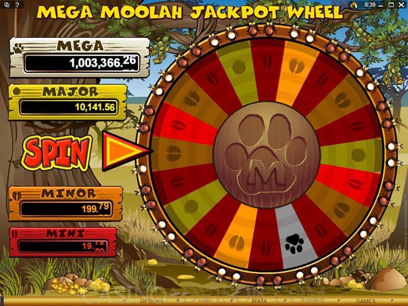 Mega Moolah Bonus Game