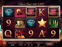 The Finer Reels of Life Slot screen