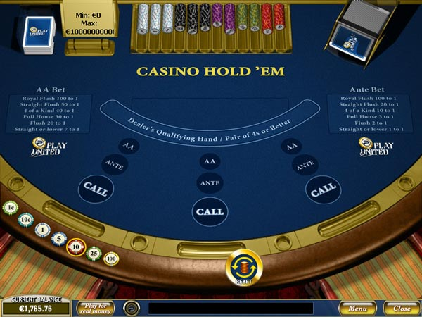 Casino poker how to bet rules casino chip money clip