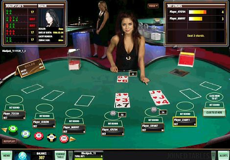 Live Blackjack Game
