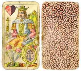 Vintage Casino Cards