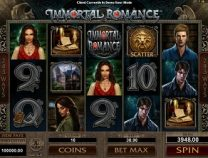 immortal romance slot screen