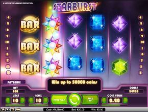 online casino reviews starbrust