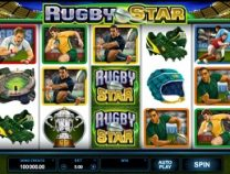 rugby star slot screen