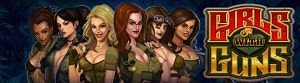 girls with guns slot screen