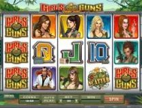 girls with guns slot screen 1