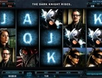 The dark knight rises slot screenshot