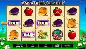 bar bar black sheep slot screen 350