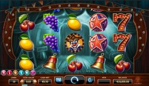 wicked circus slot screenshot big