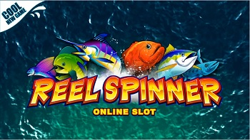 Reel Spinner Slot Logo