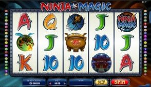 ninja magic slot screenshot 313