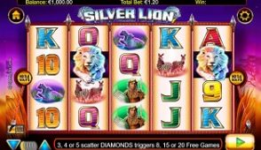 silver lion slot screenshot 313