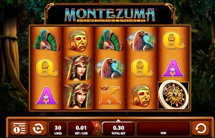 King of the Aztecs™ Slot Machine Game to Play Free in Barcrests Online Casinos