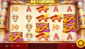 Ra's legend slot screenshot 313