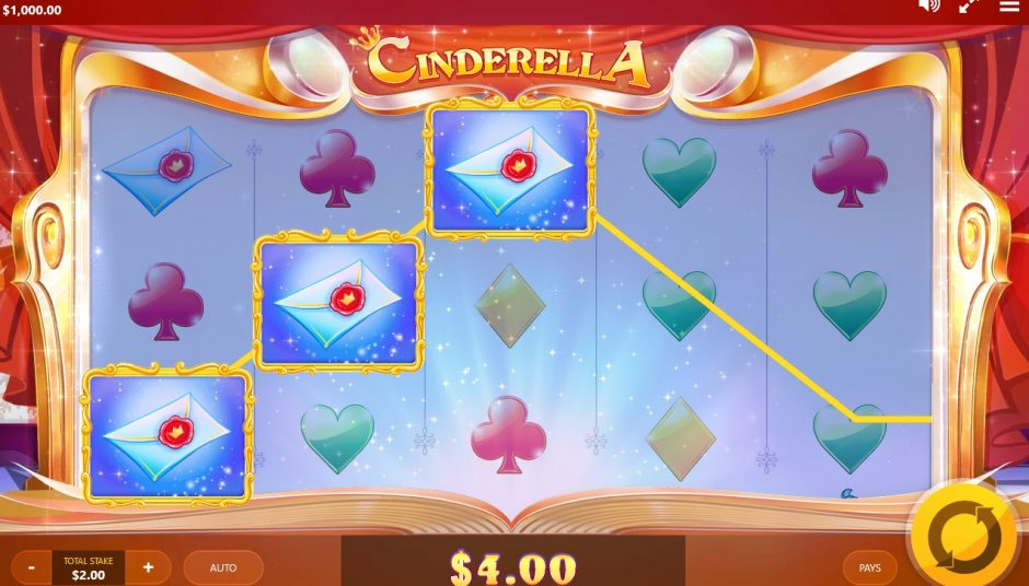 cinderella slot machine big screenshot