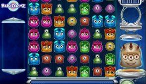 Reactoonz slot screenshot 313