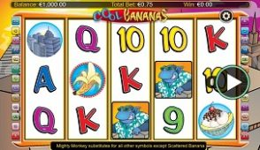 cool bananas slot screenshot 313