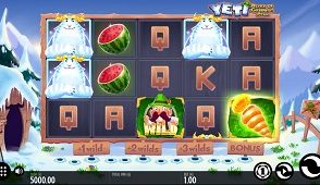Yeti Battle of Greenhat Peak Slot screenshot 313