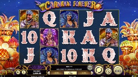 carneval forever slot screenshot big
